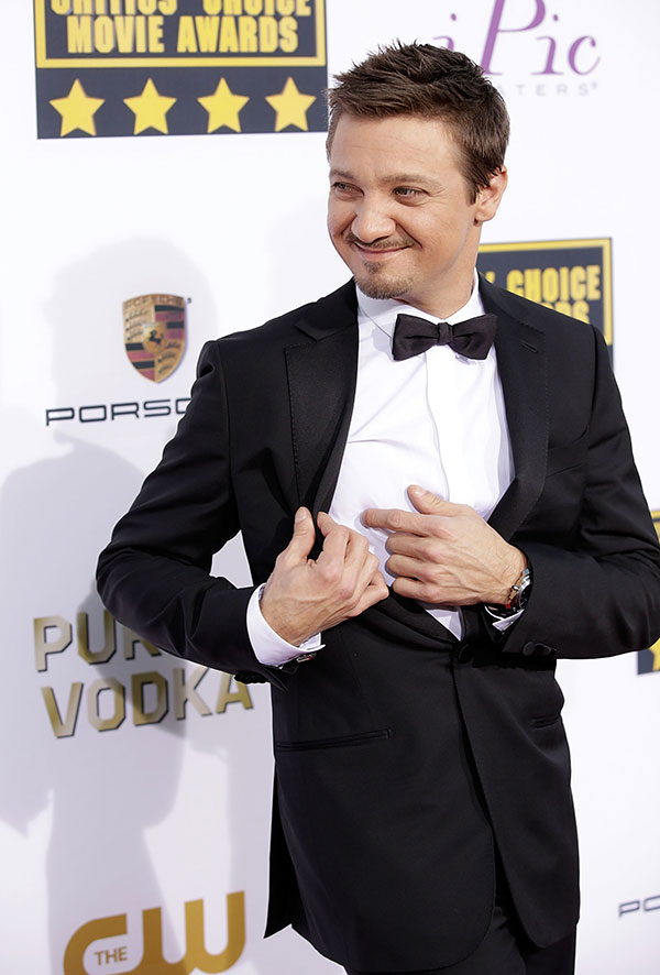 Jeremy Renner has a point